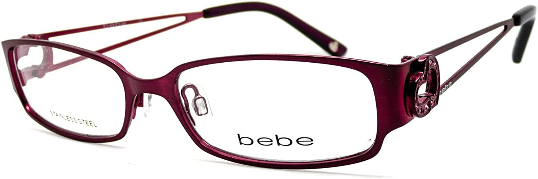 BEBE Eyeglasses BB5025 002 Plum 50MM