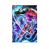 SHEFEI Póster artístico de Dragon Ball y arte de pared, impresión moderna para decoración de dormitorio familiar (20 x 30 cm)