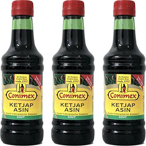 Conimex Ketjap Asin 3 x 250ml Flasche