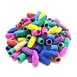 30PCS Erasers,Pencil Erasers,Pencil Top Erasers,Pencil Eraser Toppers for School Supplies, Eraser Pen Teacher Supplies for Classroom, Erasers for Kids, Pencil Eraser Toppers