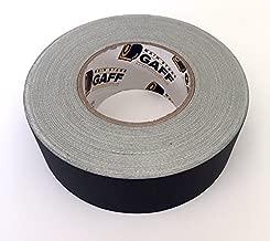 Gaffers Tape - 2 inch by 60 Yard Roll - Black - Bulk Cloth Gaffer Tape, Main Stage Gaff Tape