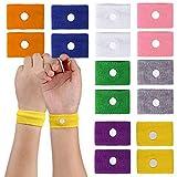 Bracelet Anti Nausée, Vococal 8 Paires Bracelet Voyage Utilisez un Massage Par Acupression pour Prévenir Le Le Mal de Mer Mal Des Transports Bracelet Voyage Anti Nausee