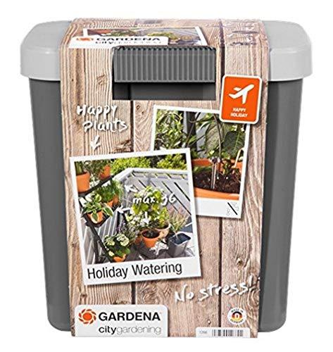 Gardena 1266-20 City Gardening Kit per Irrigazione Piante, con Serbatoio di Riserva per l'Irrigazione di sino a 36 Piante