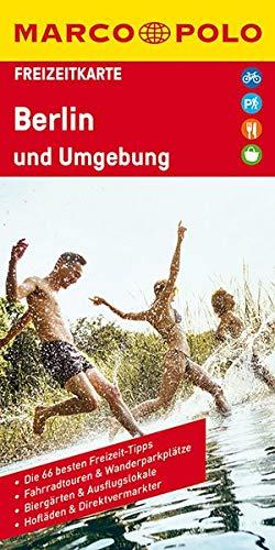 MARCO POLO Freizeitkarte Berlin und Umgebung