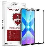 OMOTON [2 Pack Protection D'écran Honor 8X, Film Protection en Verre Trempé...