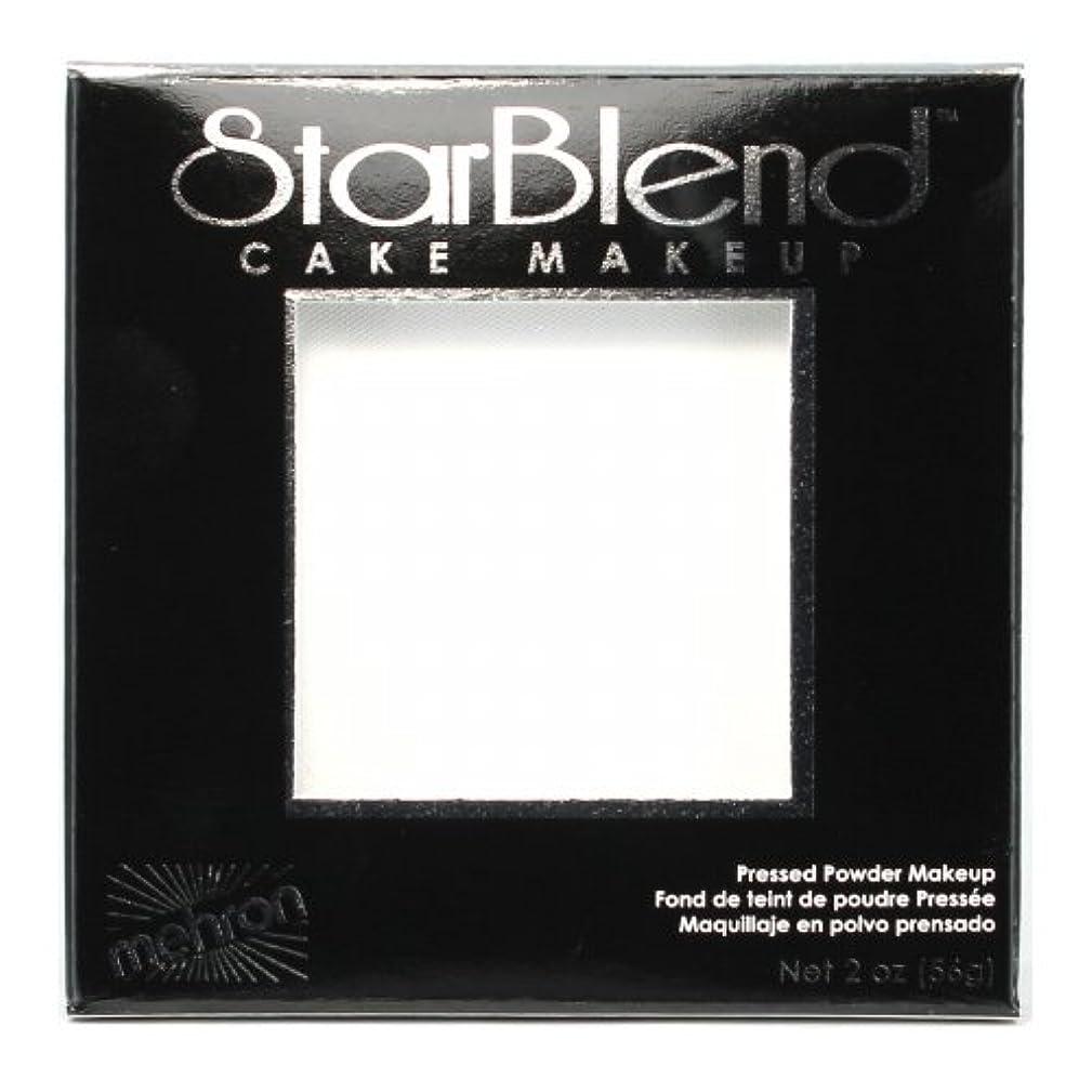 待ってストレッチ完璧(3 Pack) mehron StarBlend Cake Makeup - White (並行輸入品)