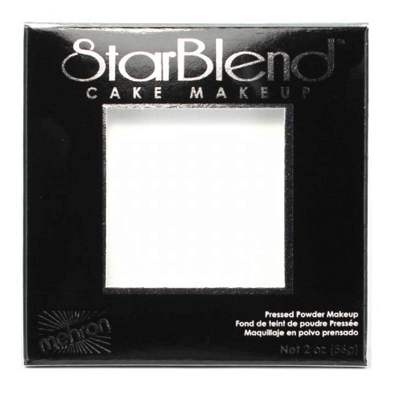 ビリー海峡ひも合併症(3 Pack) mehron StarBlend Cake Makeup - White (並行輸入品)