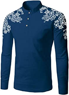 Mens Shoulder Printed T-shirts