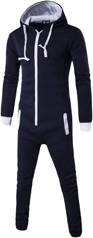 Rrive Men Two Pieces Zipper Hoodie Jackets Long Pant Sweatsuit Outfit Set