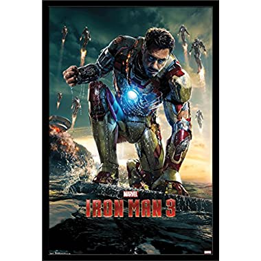 Trends International Iron Man 3 One Sheet 3, 22.375  x 34
