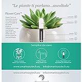 VegTrug for xiaomi Plant Flower Care Versión Europea Tiempo real Sensor para Interior y Exterior, Resistente al agua, Suelo, de fertilidad – Grado De Humedad, luz y temperatura.