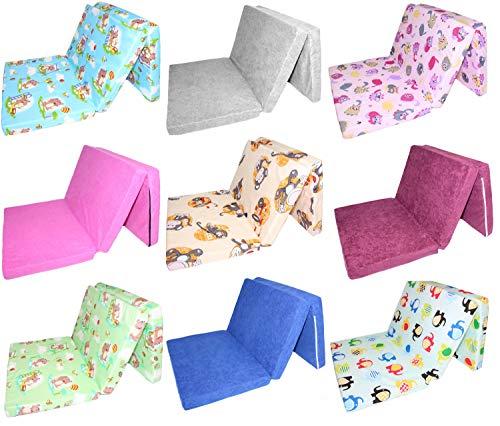 Matratze Schaumstoff für Reisebett für Baby Kinderbett Babybett Faltmatratze klappbar D7