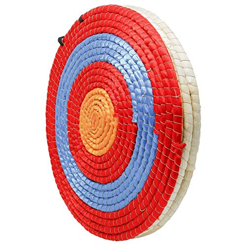 Buty Paja del Tiro al Arco Tradicional Hecho a Mano de 3 Capas 50cm sólido Flecha Arco de Destino para Practicar el Tiro al Aire Libre