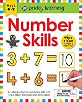 Number Skills: Wipe Clean With Pen & Flash Cards (Priddy Learning)