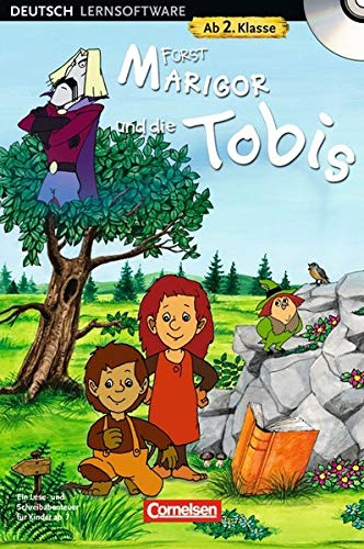 2. Schuljahr - Fürst Marigor und die Tobis: Ein Lese- und Schreibabenteuer für Kinder ab 7. CD-ROM