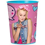 Amscan Jojo Siwa 16 oz Party Stadium Cup (JoJo's Juice)