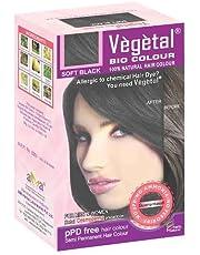 Vegetal Bio Colour - 150G, Soft Black