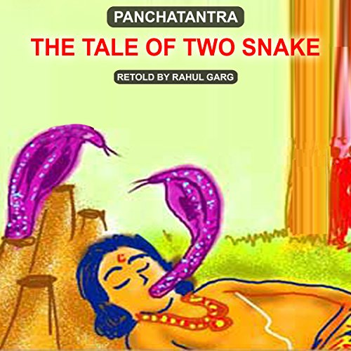 The Tale of Two Snakes audiobook cover art