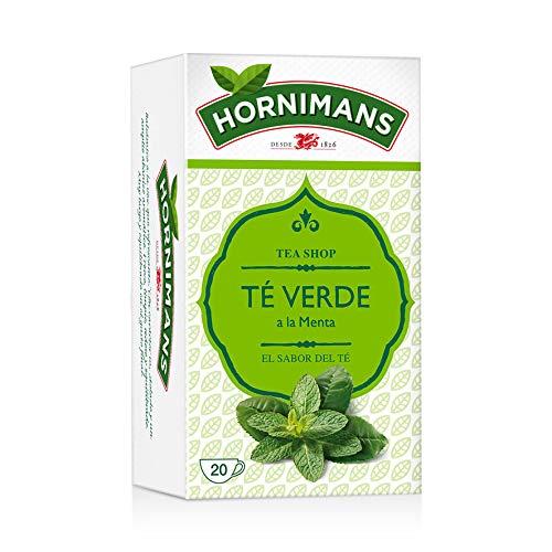 Hornimans Té Verde Bolsitas De Té A La Menta - Pack de 20 x 1,5 g - Total: 30 g