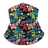 ERTERT 9pcs Magic Scarf Outdoor Headwear Bandana Sports Tube UV Face for Workout Yoga Running Hiking Riding