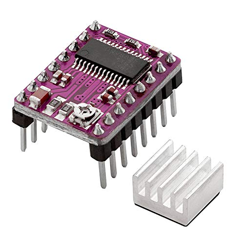 AZDelivery DRV8825 driver del motore passo Modulo con dissipatore, ad es. per RAMPE 1.4, CNC Shield, stampante 3d, Prusa Mendel con eBook
