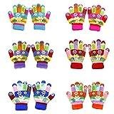 6 Pairs Children Anti-skid Magic Glove - Colorful Set Kids Magic-Stretch Gripper Gloves
