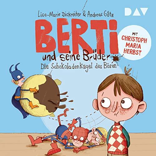 Page de couverture de Die Schokoladenkugel des Bösen