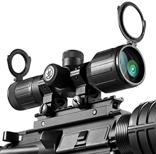 BARSKA 3-9x40mm IR Contour Scope Rubber Armored Rifle Scope