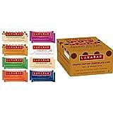 Larabar Gluten Free Snack Bars Variety Box, Vegan, 8 Flavors, 1.7oz, 16ct & Gluten Free Bar, Peanut Butter Chocolate Chip, Vegan (16 Bars)