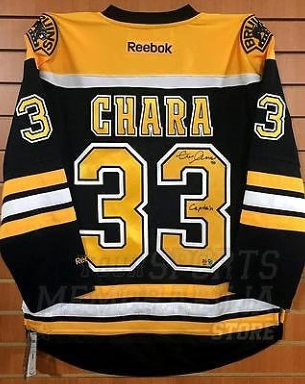 Zdeno Chara Boston Bruins Signed Autographed Captain Inscribed Home Jersey