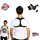 Upright Posture Trainer - Back Straightener - FDA Approved Posture Corrector for Men and Women Under or Over Clothes - Early Release New Upgraded US Design 2020
