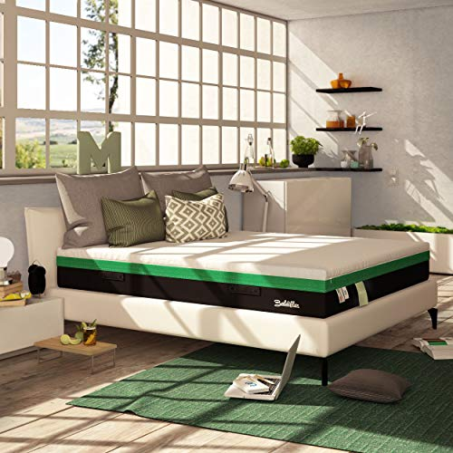 Baldiflex Materasso Matrimoniale Memory Foam Mojito 160x200 cm H25 cm