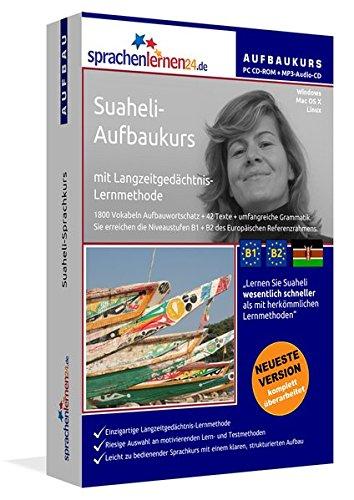Suaheli-Aufbaukurs: Lernstufen B1+B2. Lernsoftware auf CD-ROM + MP3-Audio-CD für Windows/Linux/Mac OS X. Fließend Suaheli lernen für Fortgeschrittene mit Langzeitgedächtnis-Lernmethode