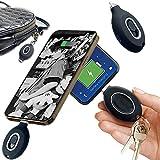 Clmcsf Cargador portátil pequeño Power Bank, Mini batería portátil con mosquetón, Power Banks...