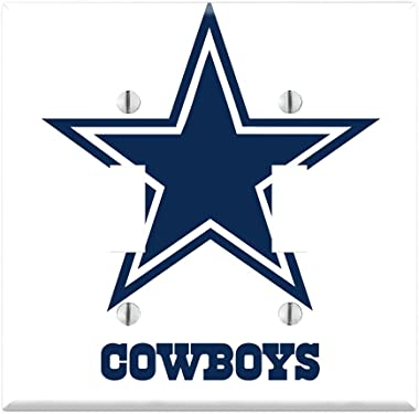 Dual Toggle Wall Switch Cover Plate Decor Wallplate - Cowboys