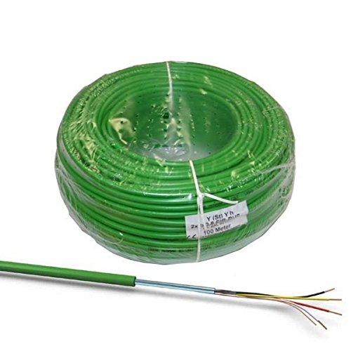 100m EIB-Busleitung Kabel grün J-Y(ST)Yh 2x2x0,8 100 Meter KNX Fernmeldekabel Datenkabel NEU
