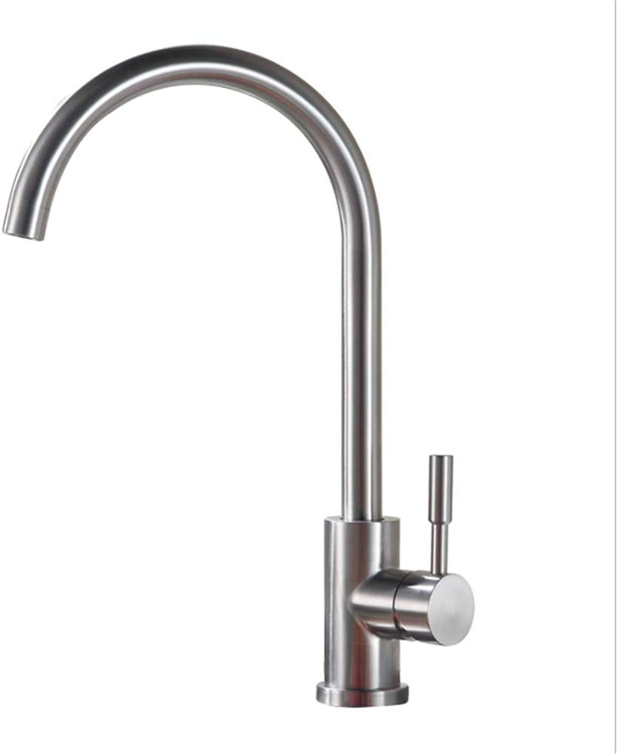 Kitchen Taps Faucet Modern Kitchen Sink Taps Stainless Steel304 Stainless Steel Faucet Kitchen Faucet Cold and Hot Water Mixing Valve redary Sink Faucet Vegetable Basin