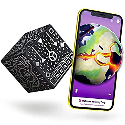Merge Cube (EU Edition) - Hold Anything - Hands-on Science and STEM Education   Digital Teaching Aids - Science Simulations and STEM projects - Home School, Remote and in Classroom Learning