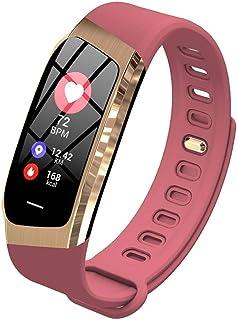 Reloj Deportivo 0,96 Pulgadas Step Tracker Smart Band Calorie (Color: Rosa)