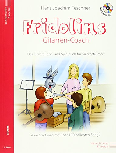 Fridolins Gitarrencoach mit CD: Das clevere Lehr-und Spielbuch für Saitenstürmer