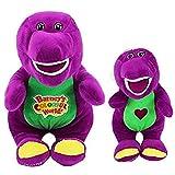 Jpenxv 2030cm 2 Pcs Singing Friend Dinosaur Barney Plush Toy Plush Animal Doll for Children Couples Christmas Birthday Gifts