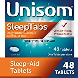 Best Sleeping Pills - Unisom SleepTabs, Nighttime Sleep-aid, Doxylamine Succinate, 48 Tablets Review