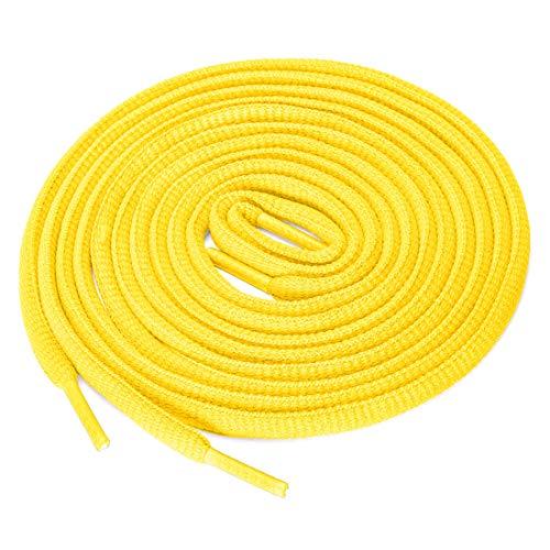uxcell - 2 paia di lacci per scarpe da ginnastica, Giallo (giallo.), 100