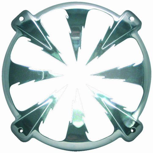 Phonocar 3/031 Lautsprecher-Halterung rund Aluminium verchromt 320mm Silber