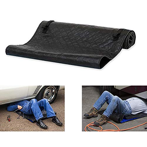 TOPHORT Automotive Car Creeper Folding Moving Pad Rolling Car Repair Pad Zero Crawling Mat Zero Ground Under The Vehicle for Cars Working and Household