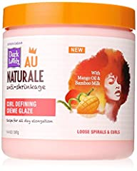 DEFINE YOUR CURLS: This curl-defining crème glaze is a lightweight moisturizing delight with a medium crunchless hold that instantly defines & softens curls, featuring mango oil & bamboo milk. MANGO OIL & BAMBOO MILK: Nourish curls & coils with moist...