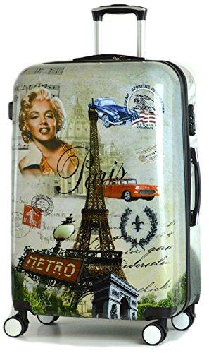 Valise  Mixte adulte vert Paris Metro SET OF 3 28 + 24 + 20 DK Luggage