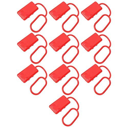 Weikeya Cubierta del Conector de la Carretilla elevadora, plátulo de plástico de plástico Enchufe de conexión rápida para 350A Carretilla elevadora