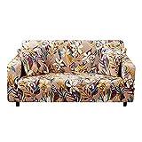 WXQY Funda de sofá de Sala de Estar,Funda de sofá elástica elástica,Funda de sillón Modular en Forma de L,Funda de sofá Modular de Esquina A1 de 4 plazas