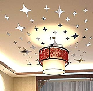 Bling-bling Stars Diy Acrylic Removable Wall Stickers Decal Room Wallpaper